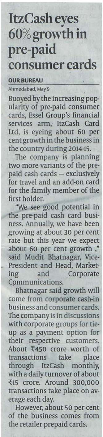 ItzCash Card-HBL-10 may 2014,Ahmd
